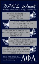 Delta Phi Lambda Week Informational Flyer (2009)