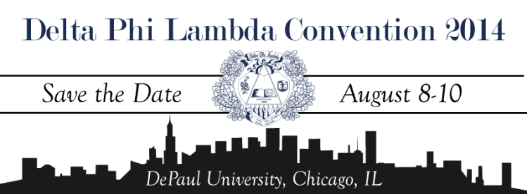 Delta Phi Lambda Convention Save the Date (2014)