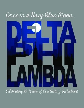 T-Shirt Design for Delta Phi Lambda Convention (2013)